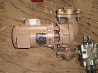 RARE NEW TACO 1900 SERIES In-Line Pump WITH BALDOR