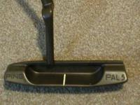 Here is a very rare Ping Pal 5 Copper putter that is in