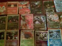 These Pokemon cards have not been used and are bran