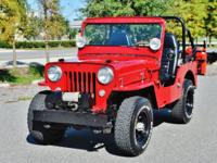 This is an absolutely stunning restored 1954 Willys