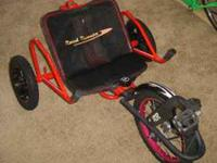Rare, Roadrunner Blitz recumbent kid's trike. One rear