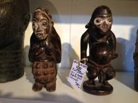 Rare Unusual Pair of Monkey Figures from Cameroon. Was