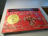 Original Gilbert Erector Set 2 from the early 1960s