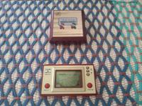 Rare Vintage Nintendo Game and Watch Lot: Super Mario