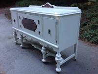 This gorgeous Shabby Chic buffet is part of a numbered