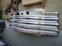 RARE 47-53 Chevrolet Truck Grill With White Background