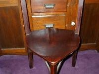 I have for sale a rare antique corner chair. Also known