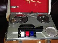 Uncommon discover vintage Mayfair Reel to Reel Tape