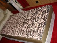 Here is a 5 week old firm twin memory foam cushion.