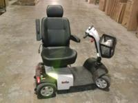 Rascal 10 Scooter, 4 wheel, gently used floor model.
