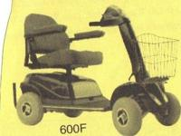 Rascal 600 outdoor 4 wheel scooter for sale in real