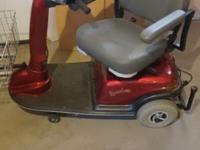 Rascal 600 scooter for sale as is. Great condition,