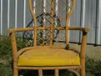 Rattan Chair itself is in excellent condition. It was