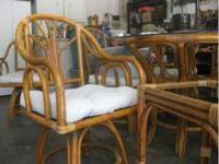 For Sale beautiful matching rattan furniture, perfect