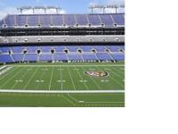 Six Club Level Baltimore Ravens PSLs, seats 17 22 (on