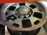 We have Ravine 17x8.5 rims. We have a set of four. For