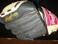 """Rawlings Ball Glove 9 1/2"""" All Leather Shell Player"""