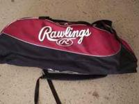 Rawlings equipment bag used only one season. Multiple