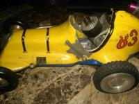 Vintage Ray Cox Thimble drome car has motor and