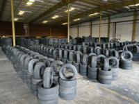 MINIMAL ORDER OF ONE HUNDRED TIRES.  Our 38,000 square