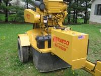 Hi I have a stump grinding towable RAYCO RG 1660 M 60