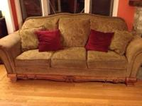 Beautiful sofa never used, was in a room no one went