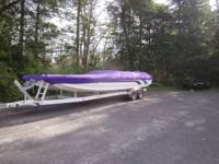 2002 raysoncraft cat, 502 EFI, fresh water boat, new