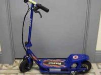 For sale is a Razor battery powered Scooter. Very nice