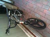 This is used kids Razor brand BMX bike. It has some