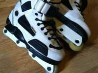 I have a pair of size 9 Razor Cult 5 aggressive inline