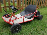 The Razor Dune Buggy lets your youngster delight in