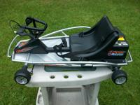 This kart is in great shape with new batteries. Goes