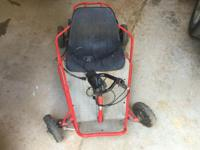 Razor Kids Go-Kart. Needs TLC (battery, tires are old,