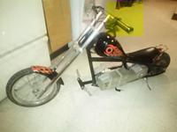 Razor mini chopper, battery operated however the
