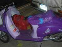 I have a hannah montana edition razor moped..its