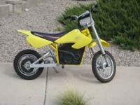 Razor brand electric dirt bike. about two years old,