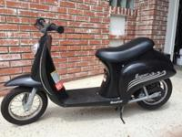 Black! Great Condition! Classic italian scooter.