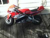 I have a non-working razor pocket bike. It needs a new