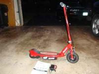 Razor Scooter E175 $ 80 Cash only Red Electric Razor