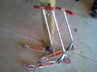 I have three razor scooters for sale. They are used but