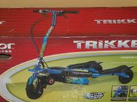 Razor Trikke E2 Electric Motorized Scooter. Brand name