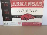 Officially licensed Razorback Placemats - choice of 2