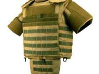 RBR Brand Tactical Body Armor Bullet Proof Vest LVL 3a