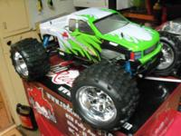 Got a Red pet cat 1/8 Nitro Avalanche XTR with big