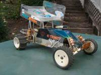 This is a Vintage RC-10 that I ran 20 years ago. It is