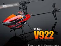 I am offering my RC helicopter. Great helicopter in