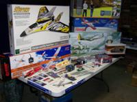 I HAVE DECIDED TO SELL ALL OF MY RC AIRCRAFT AND PARTS,