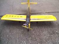 RC airplane trainer. RC 35, McCoy, neve been flown, 5