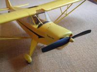 "Like brand-new Flyzone ""Super Cub"" foamy with 48"""