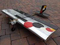 Two Radio Controlled planes - one a gas,